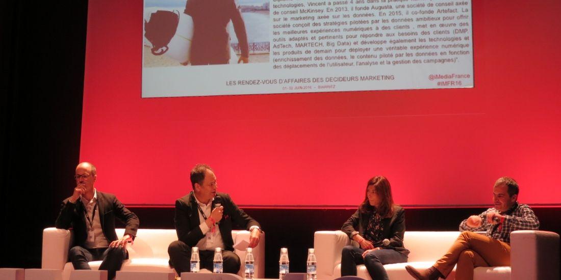 Pierre-Nicolas Dessus (France Télévision), Frédéric Roy (CB News), Maral Zakarian (Samsung France) et Guillaume Planet (Groupe SEB)