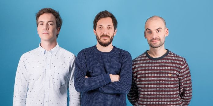 Antoine David, Lucas Varone et Frans McCabe