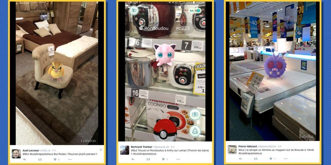Pokémon GO : une opération à succès pour les magasins But