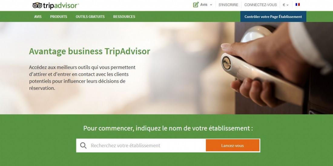 Trip Advisor lance des outils marketing payants