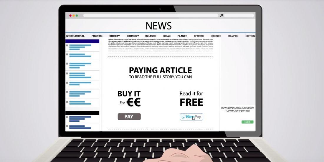 Viewpay transforme les lecteurs en abonnés grâce à la publicité