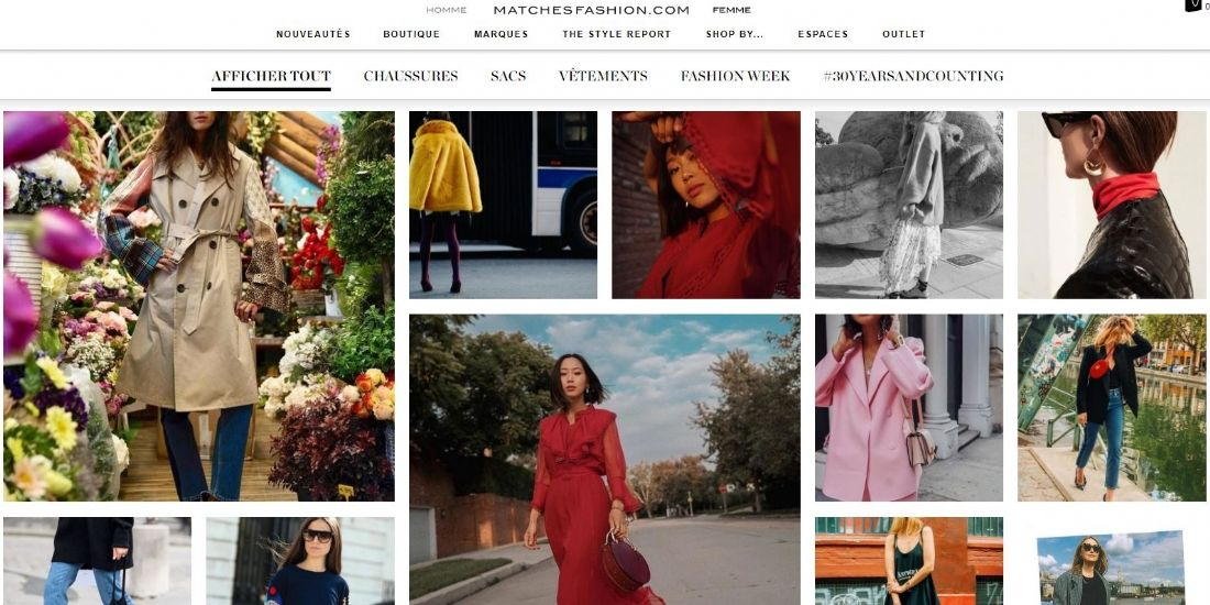Comment rentabiliser son content marketing: le succès de MatchesFashion.com