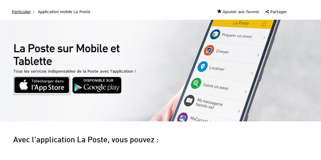 Adverline, nouvelle régie des sites mobiles et application de La Poste