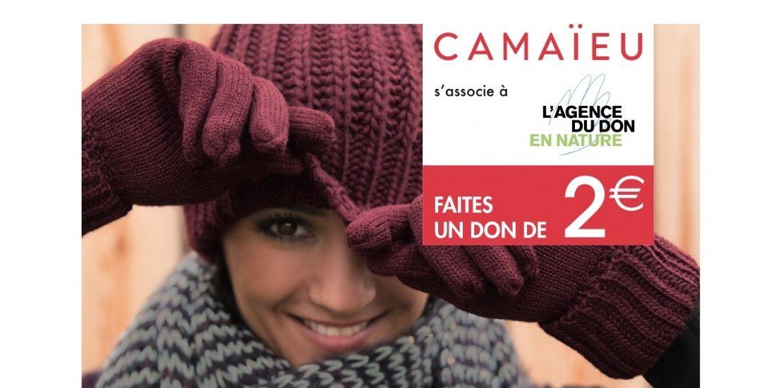 Comment Camaïeu renforce son image de marque avec du caritatif