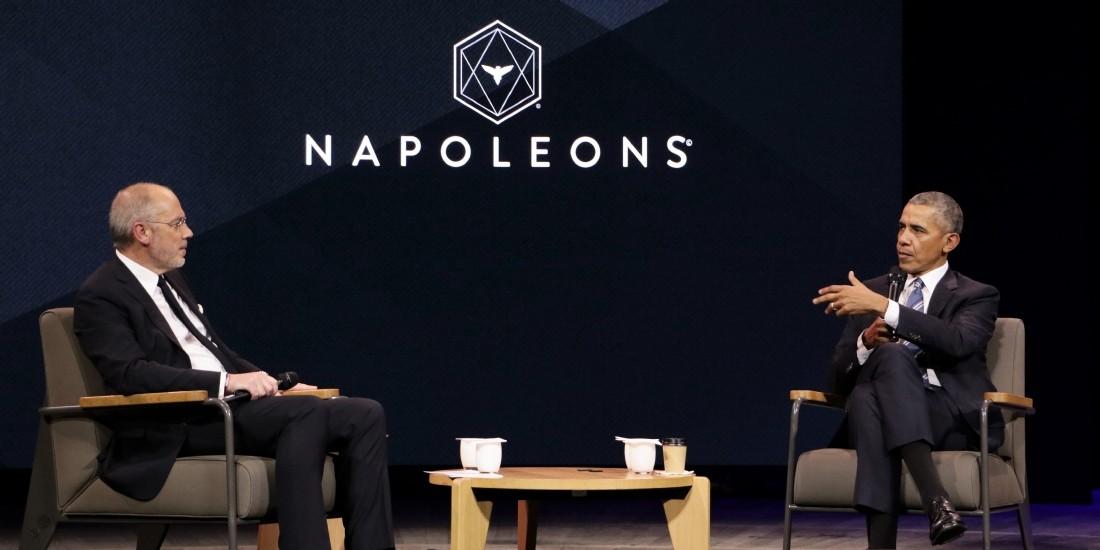 Barack Obama à Paris : pari gagné pour les Napoleons