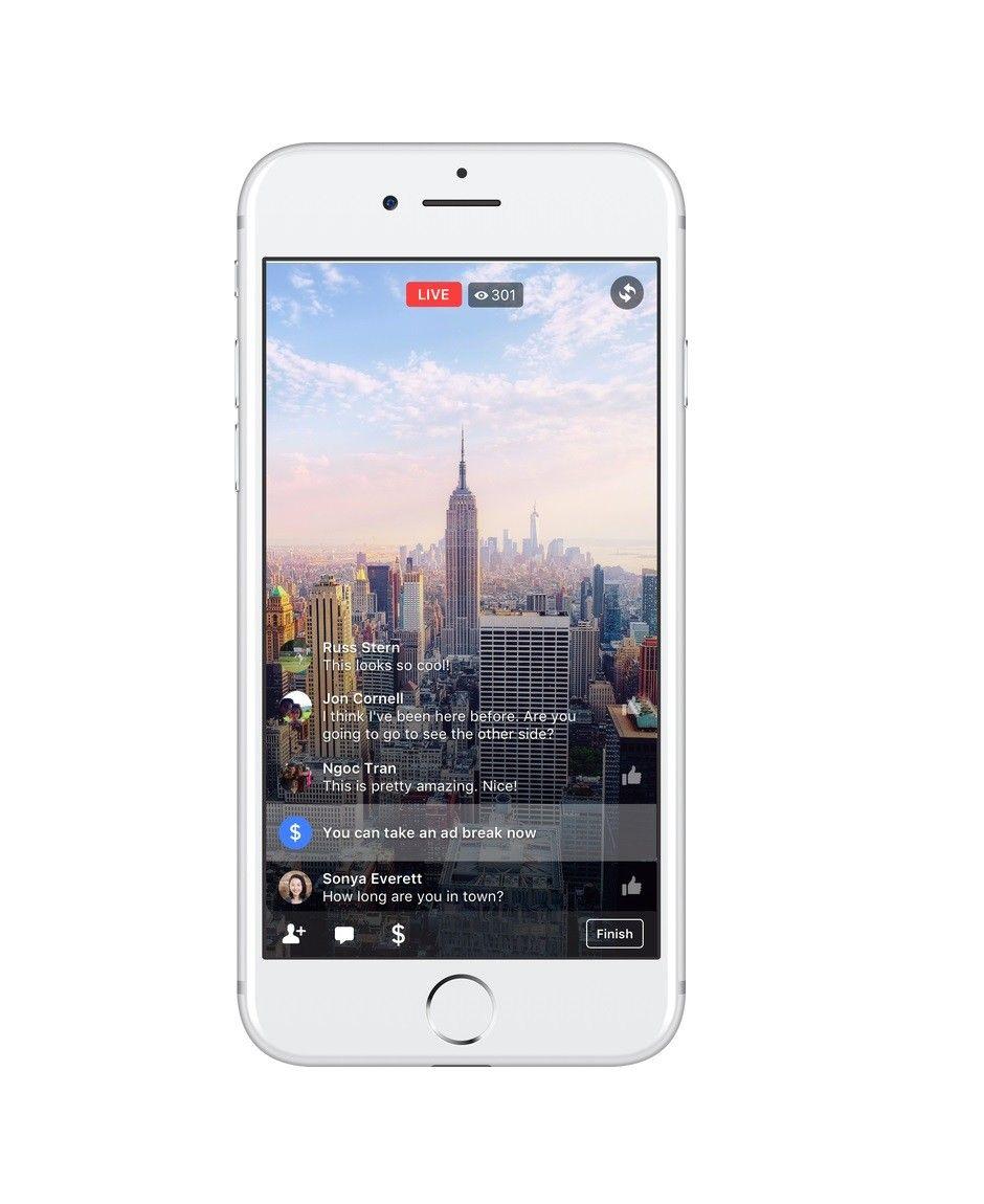 Facebook introduit les publicités au milieu des vidéos