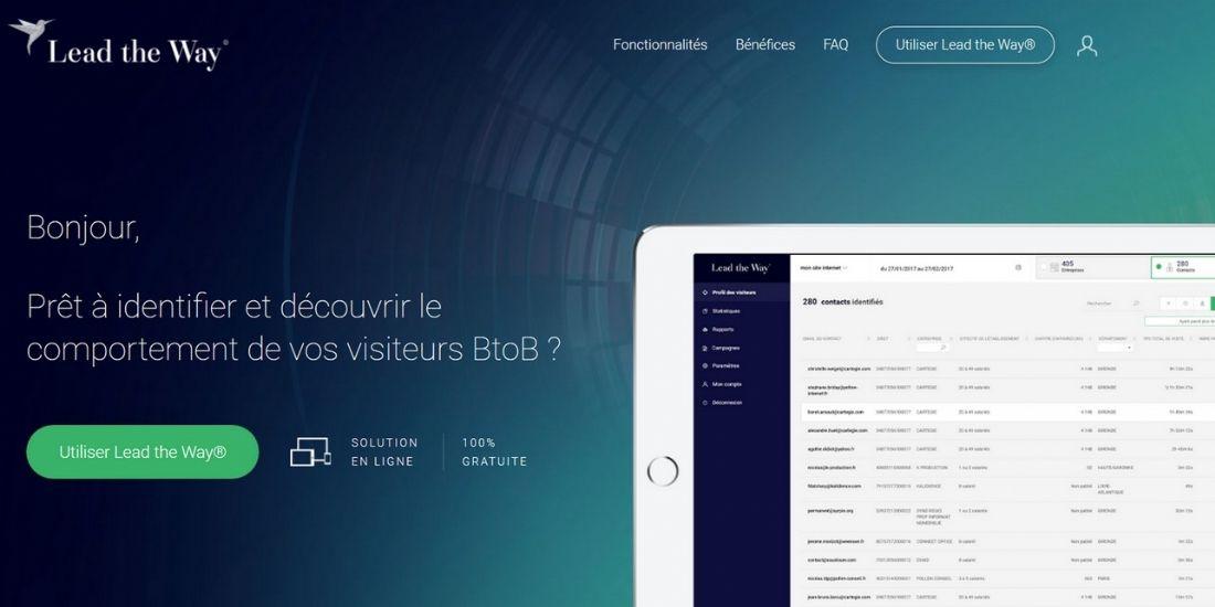 [Big Data Paris] Cartégie aide le BtoB à tracker ses e-visiteurs