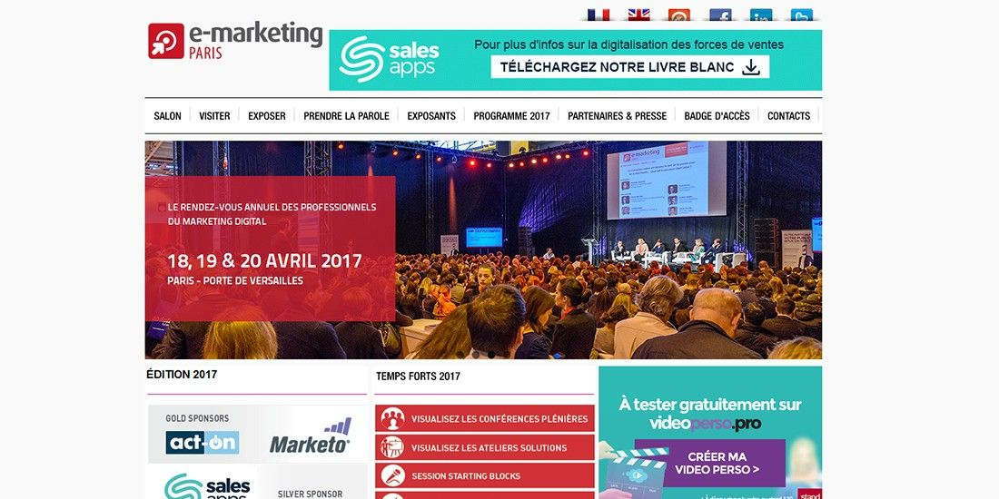 Salon e marketing paris les rendez vous ne pas manquer - Salon emarketing paris ...