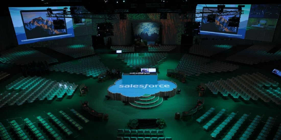 Salesforce à l'assaut de l'intelligence artificielle