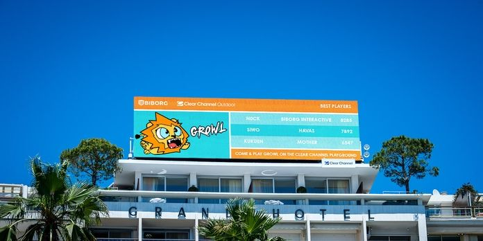 [Cannes Lions] Clear Channel fait de Cannes son terrain de jeu