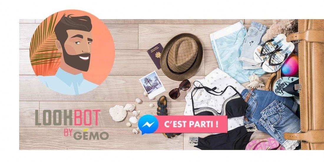 Gémo lance un chatbot sur Messenger