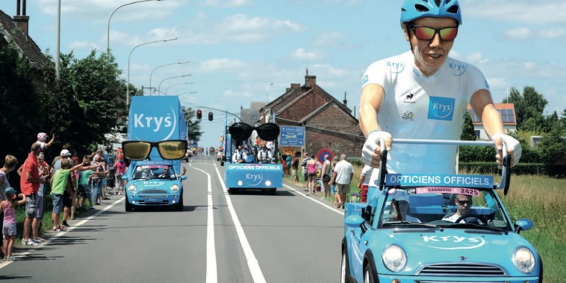 Marketing sportif : le Tour de France vu par Krys