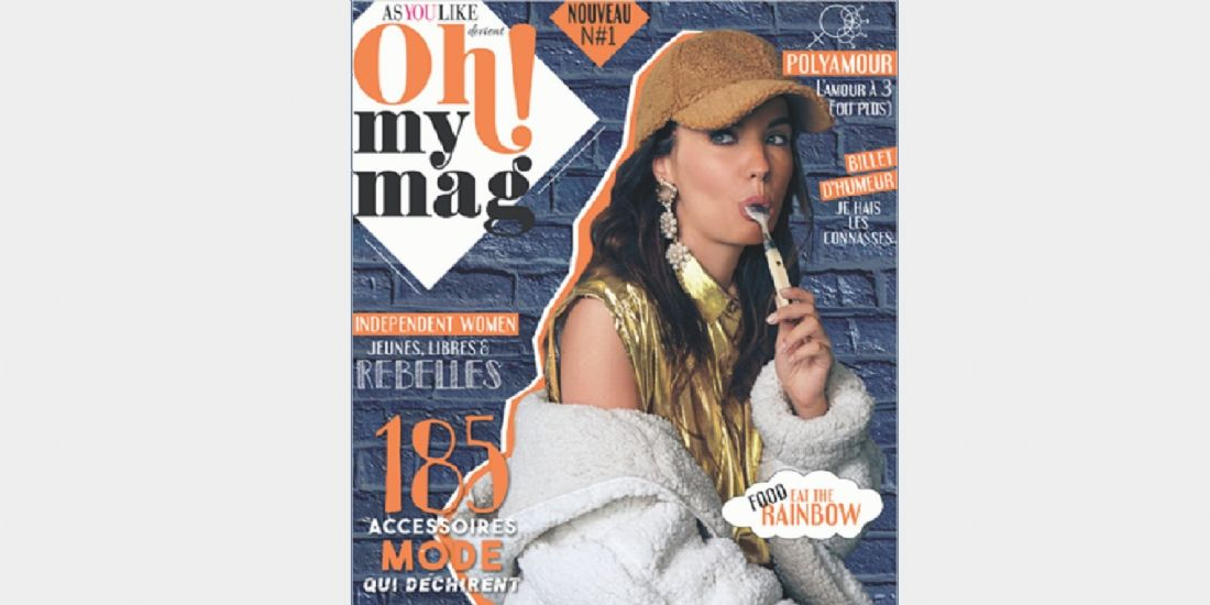 Presse magazine : As You Like devient Ohmymag