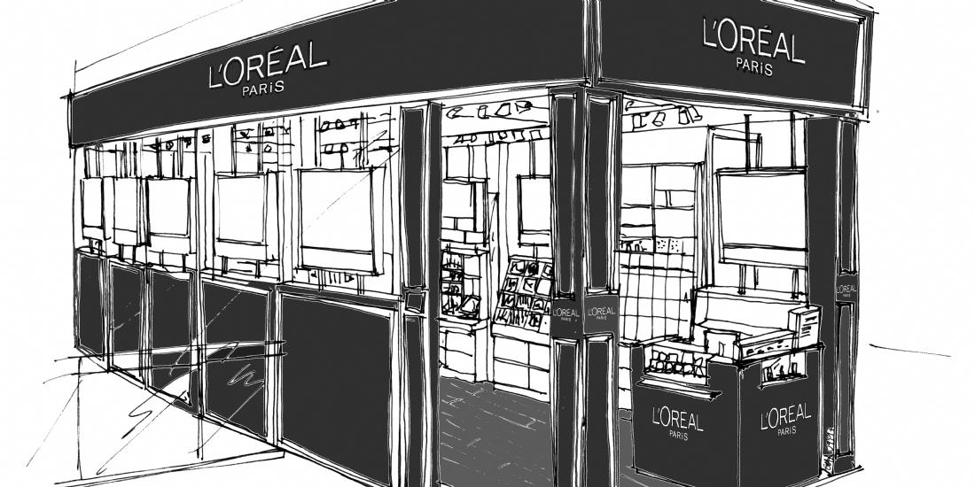 L'Oréal Paris ouvre sa 3e boutique en Ile-de-France