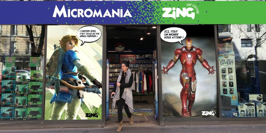 Rebranding: comment Micromania opère sa fusion avec Zing ?