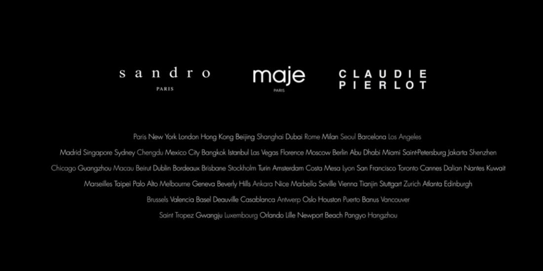 Comment s'organisent les achats marketing chez Sandro, Maje et Claudie Pierlot?