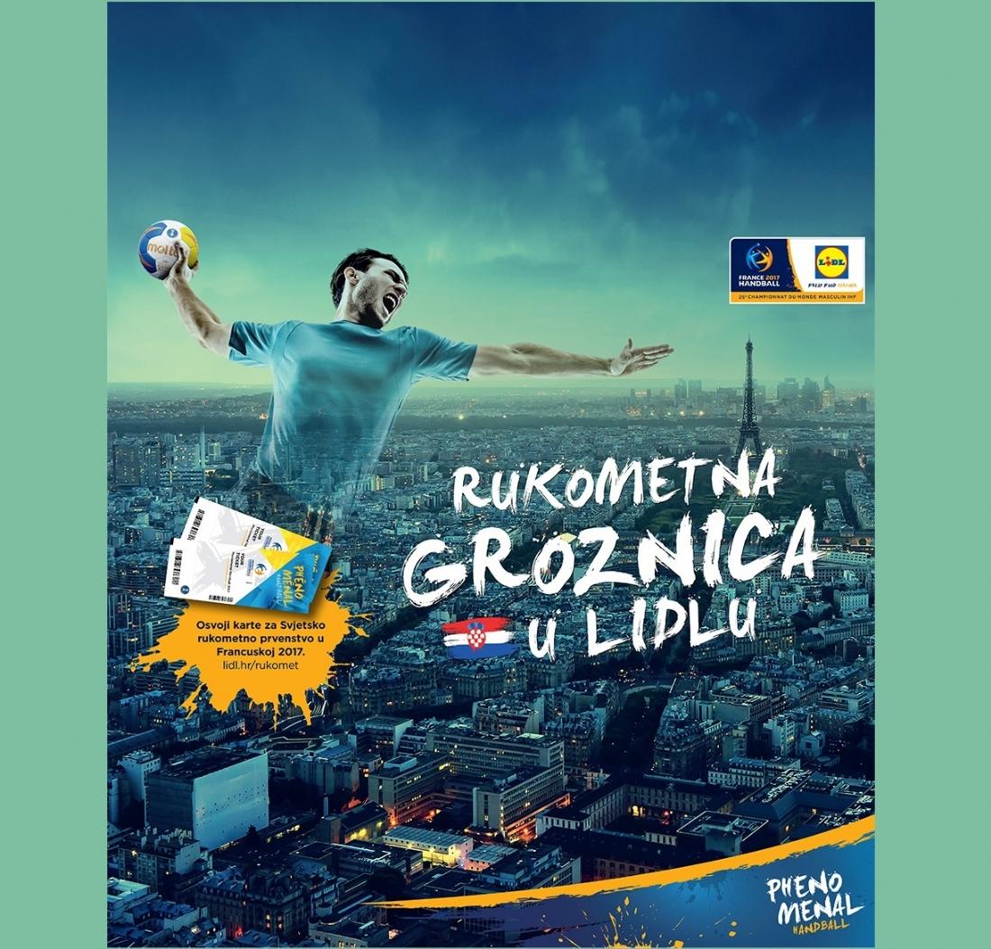 Sponsoring Lidl Mise à Nouveau Sur Le Handball Avec L Euro 2018