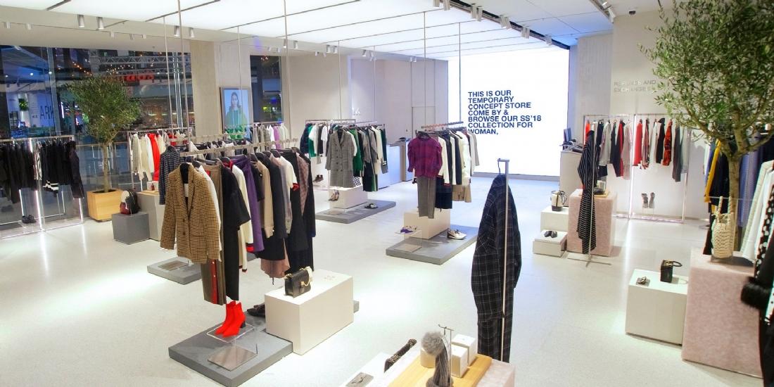 Zara inaugure un pop-up store dédié aux commandes en ligne à Londres