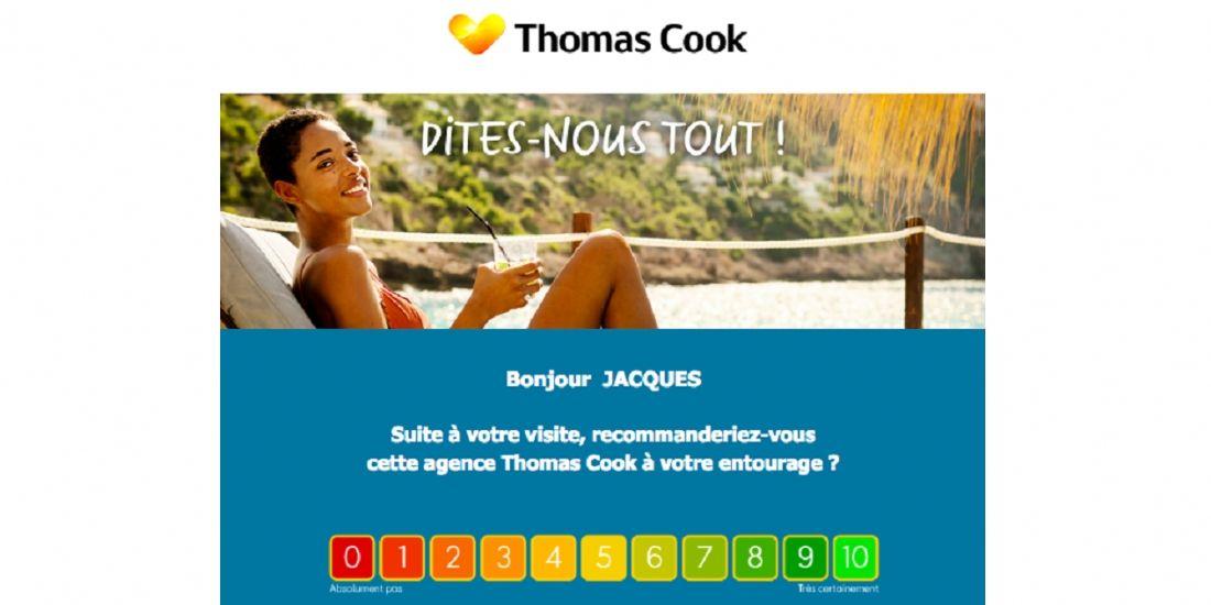 Thomas Cook mise sur les avis clients pour monter en puissance sur le digital