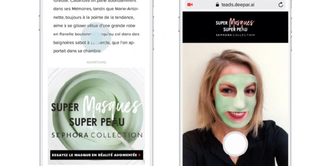 Sephora mise sur la publicité en réalité augmentée