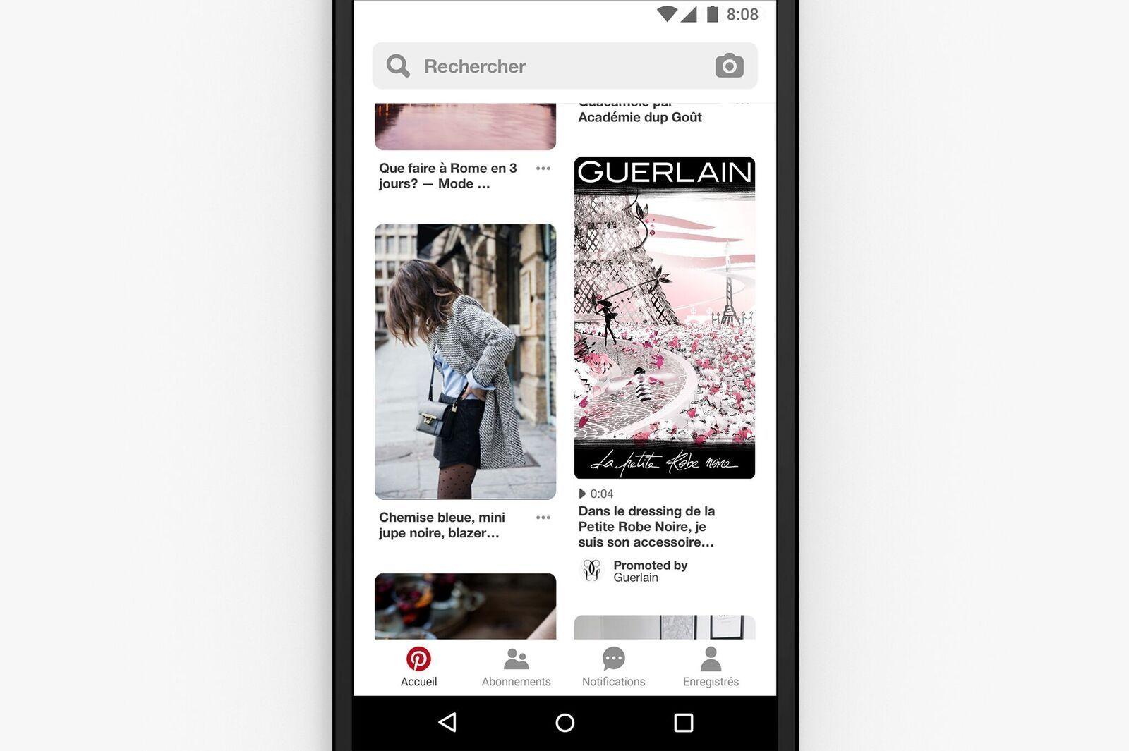 Sa Ouvre Tous Les À Pinterest Plateforme Publicitaire Annonceurs WEH9D2I