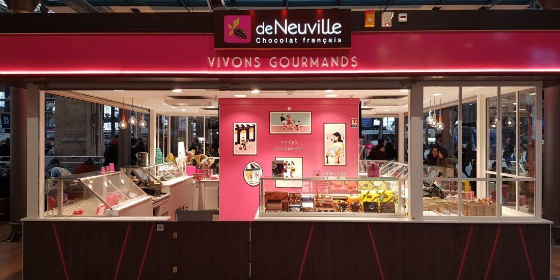 Les chocolats De Neuville s'offrent une nouvelle stratégie pour Noël