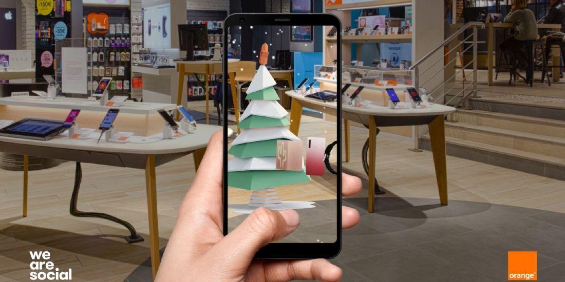 Orange transforme ses boutiques en terrains de jeu pour Noël