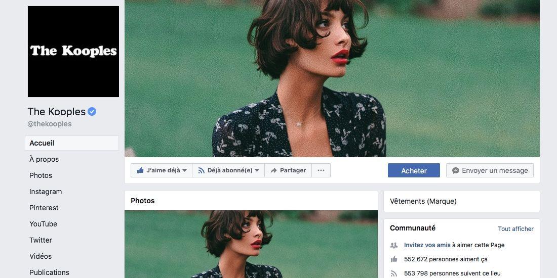 The Kooples optimise ses campagnes Facebook avec Kamp'n