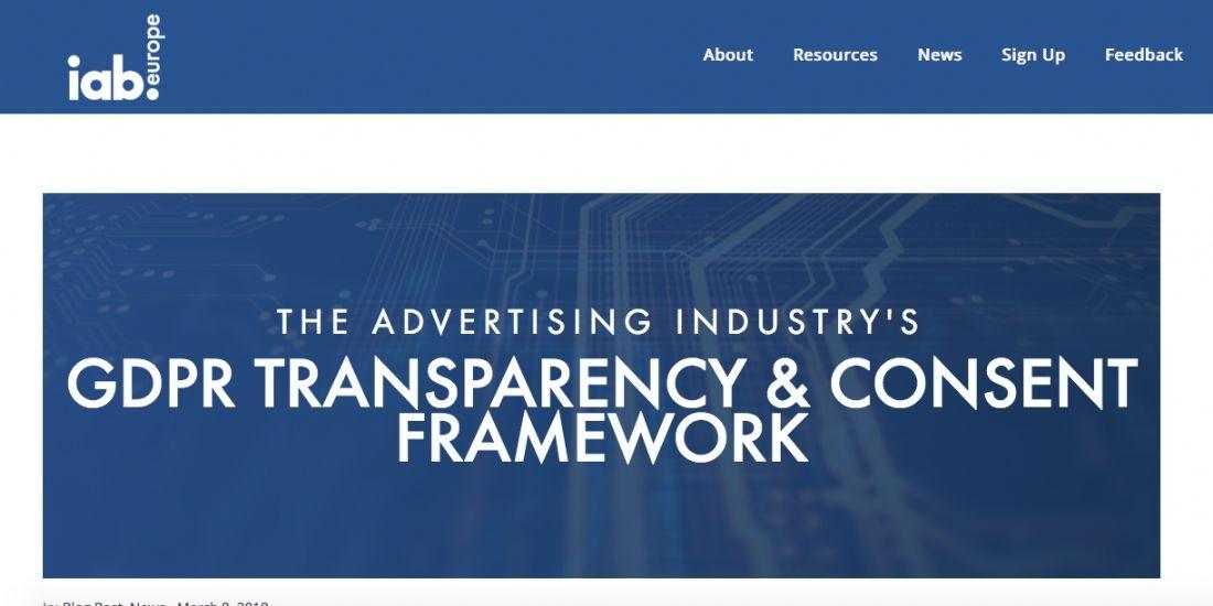 L'IAB Europe publie ses recommandations GDPR