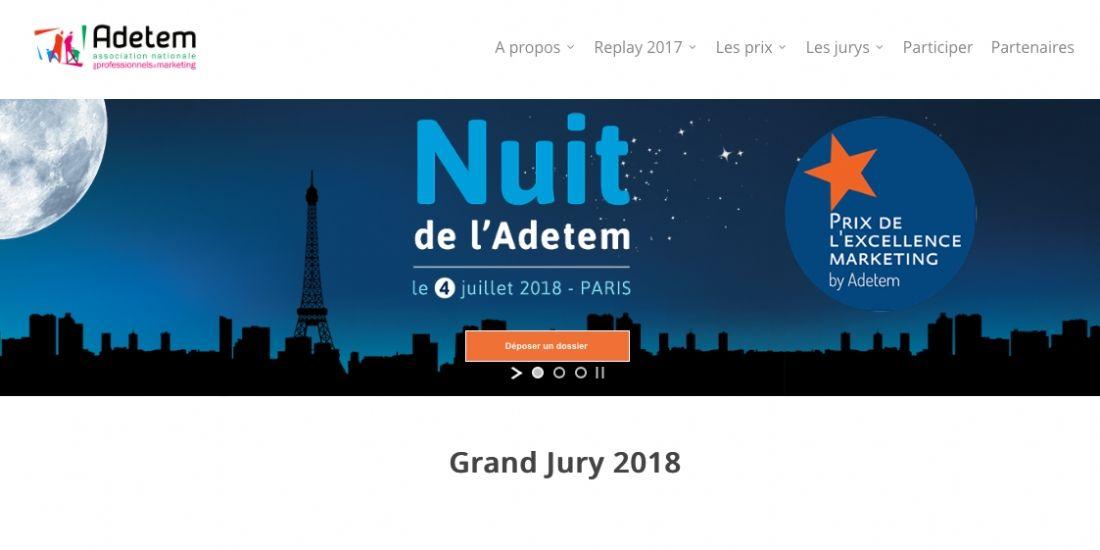 L'Adetem lance ses prix de l'Excellence marketing 2018