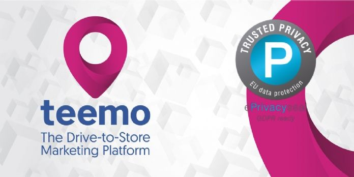 Teemo est certifié conforme au RGPD par ePrivacy
