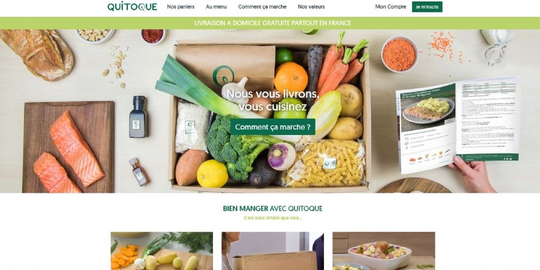 Carrefour rachète la start-up Quitoque