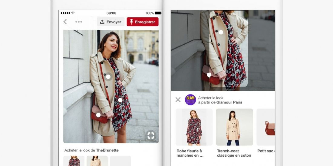 Pinterest déploie la fonctionnalité 'Shop the Look' en France