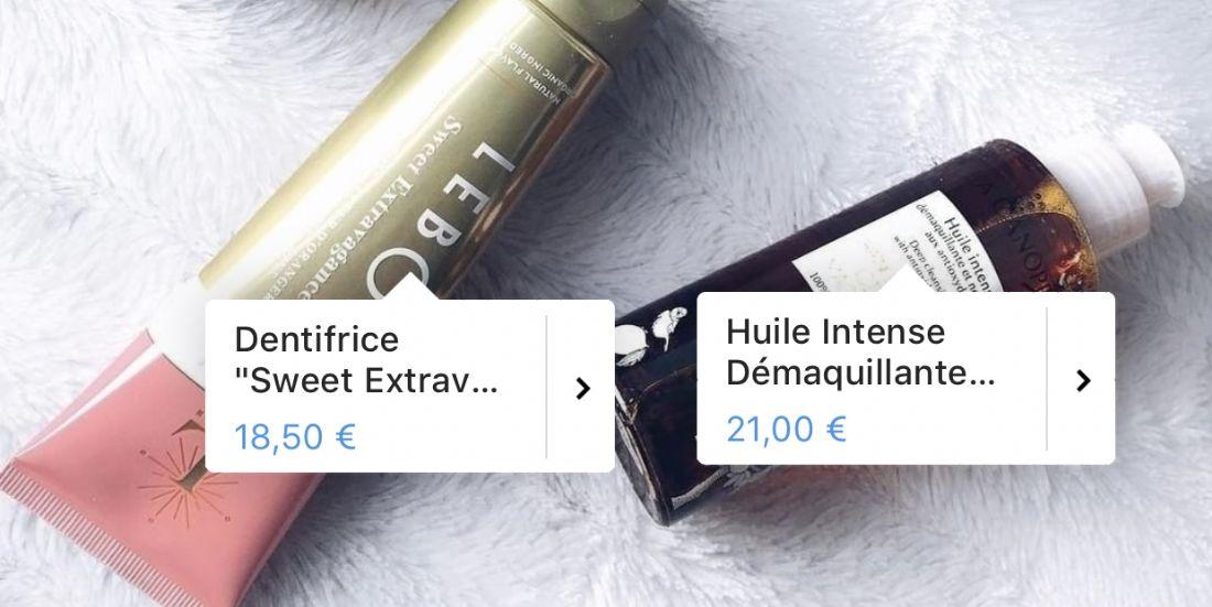 Instagram lance son service 'Shopping' en France