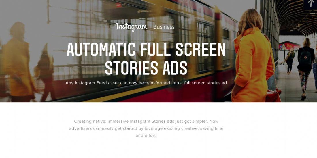 Instagram propose un nouveau format vidéo pour les publicités dans les stories