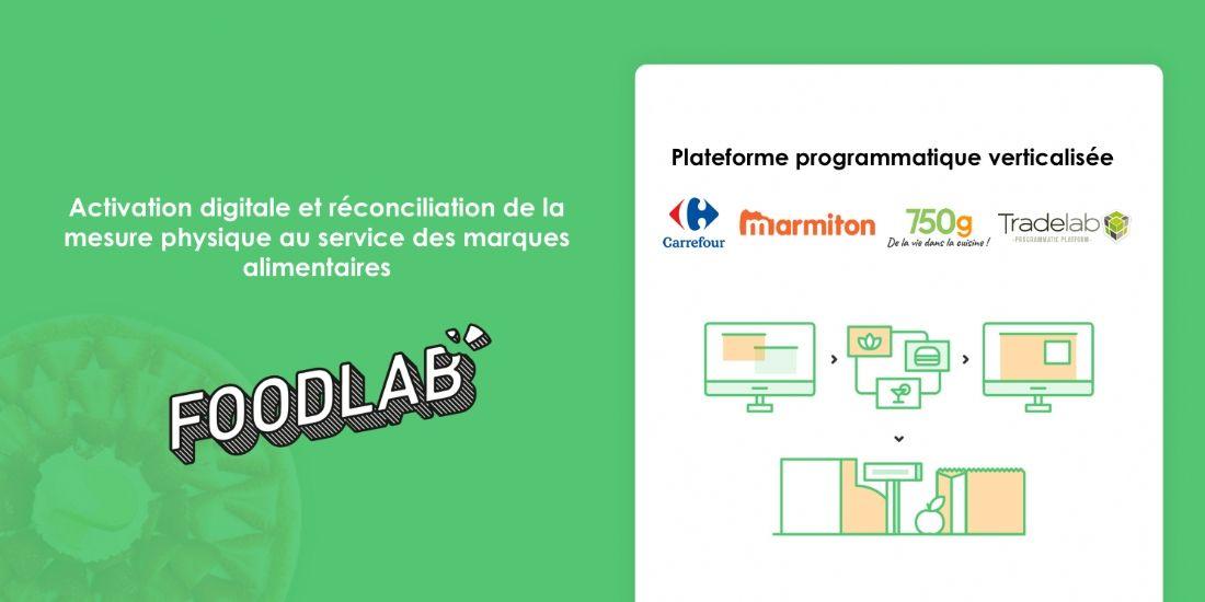 Carrefour, Tradelab, Marmiton et 750g lancent Foodlab