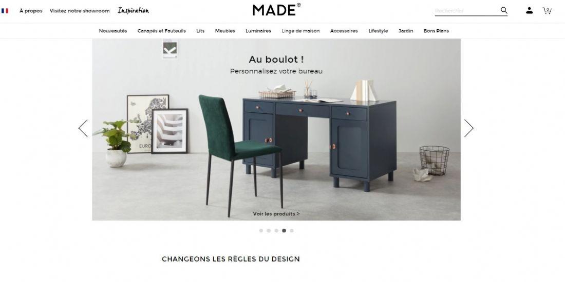 La stratégie de Made.com pour être une marque bankable