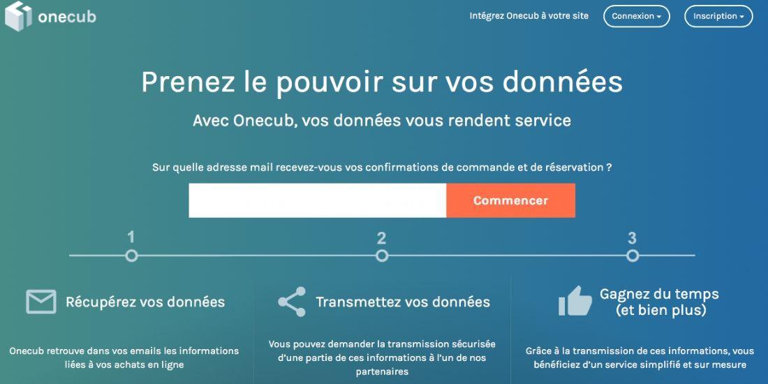 Onecub recueille les consentements