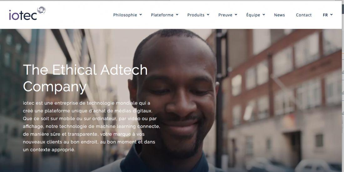 iotec, plateforme d'achat media éthique, se lance en France