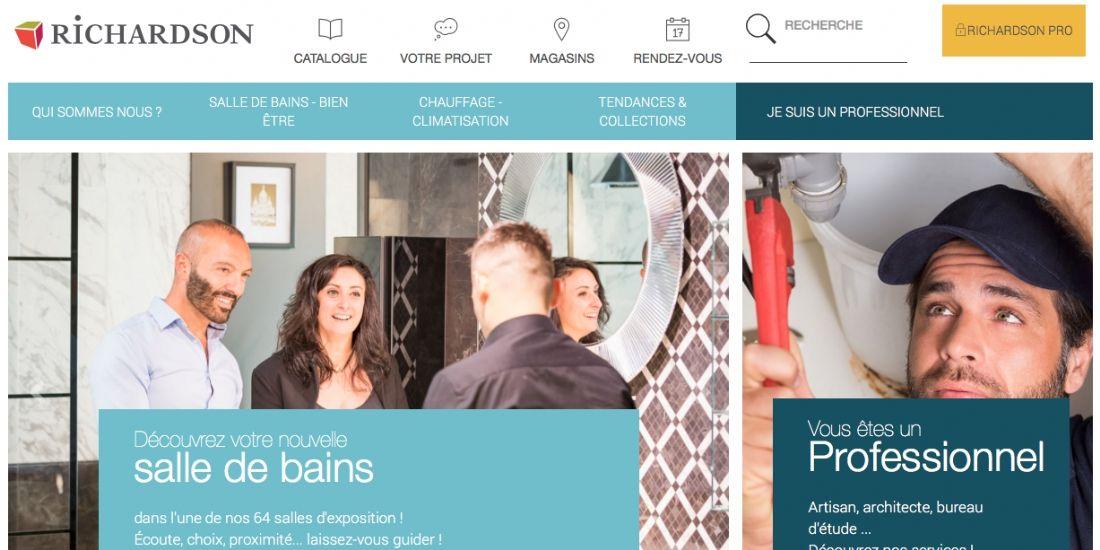 Richardson confie la refonte de son site à Keyrus et développe le web-to-store