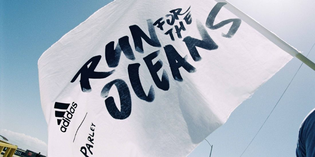 adidas runs for the preservation of the oceans