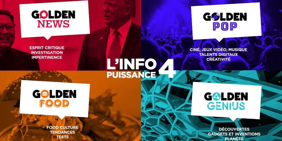 Golden Network étend son offre éditoriale auprès des millennials