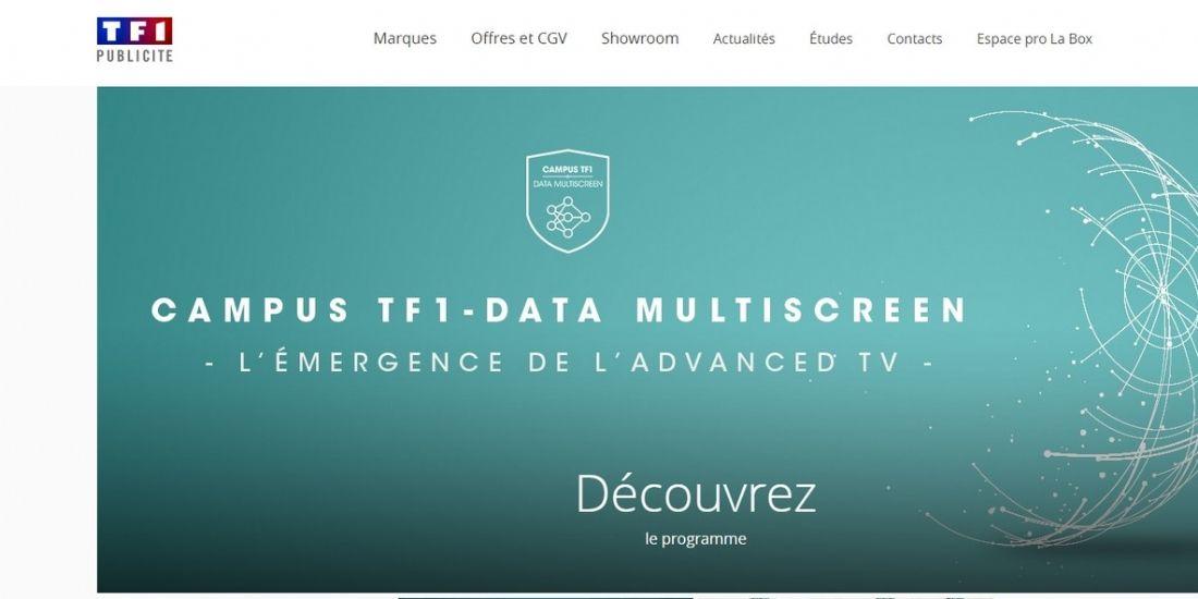 TF1 Publicité mise (tout) sur les data