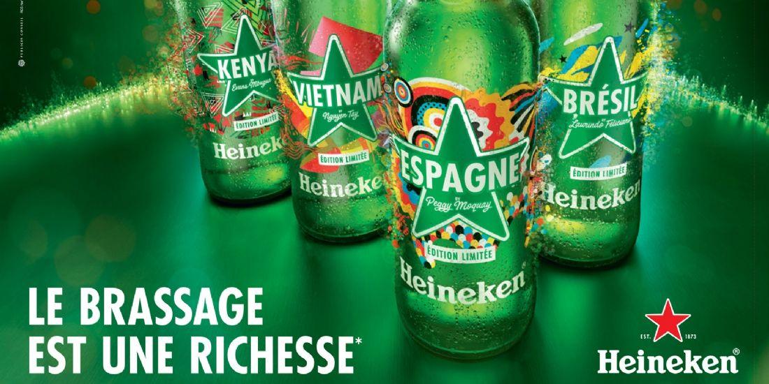 Heineken rafraîchit un marché de la bière sous pression