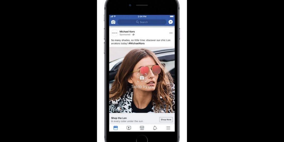 Les publicités en réalité augmentée arrivent sur Facebook et Instagram