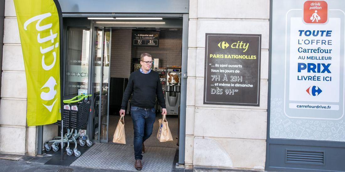 Carrefour ouvrira 31 drive piéton à Paris d'ici fin janvier 2019