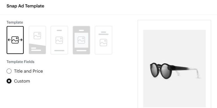 Snapchat lance Dynamic Ads