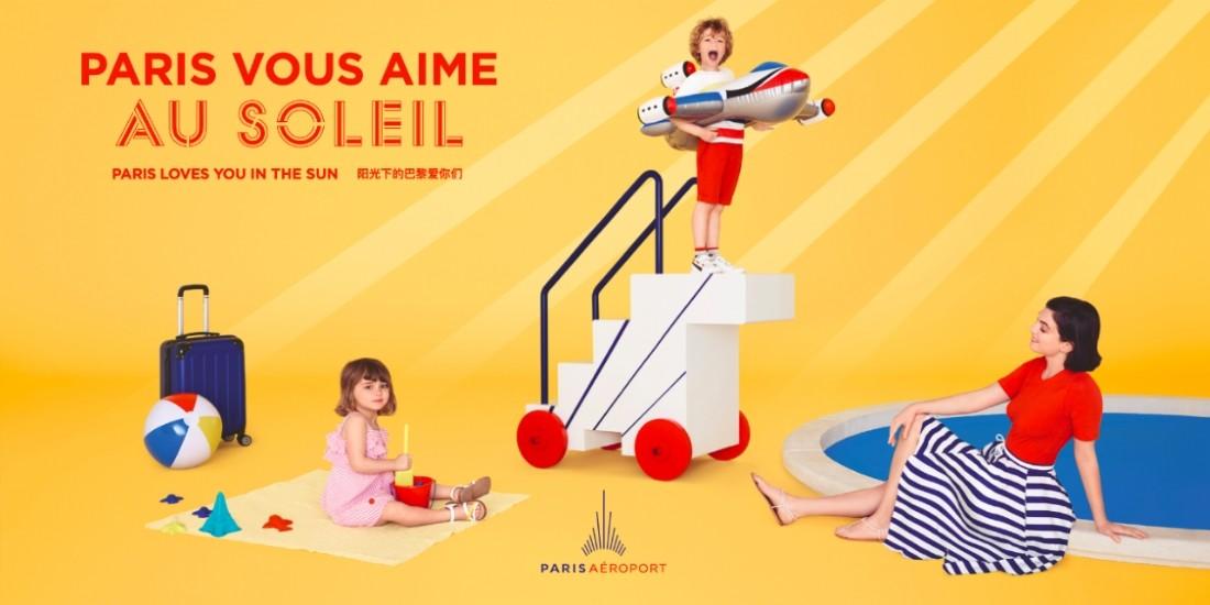 Paris Aéroport vous aime et veut le prouver en affichage et social media
