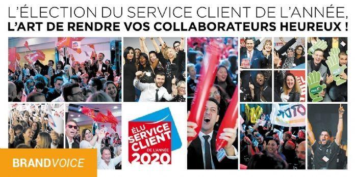 Élection du Service Client de l'Année : tellement plus qu'un outil de communication !