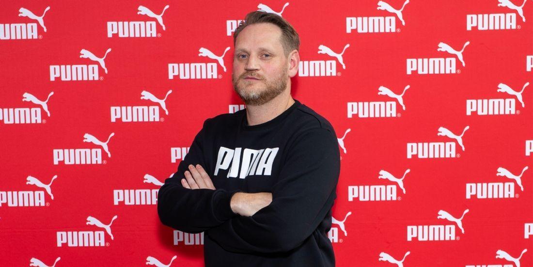 Benoît Menard (Puma) va 'Forever Faster'